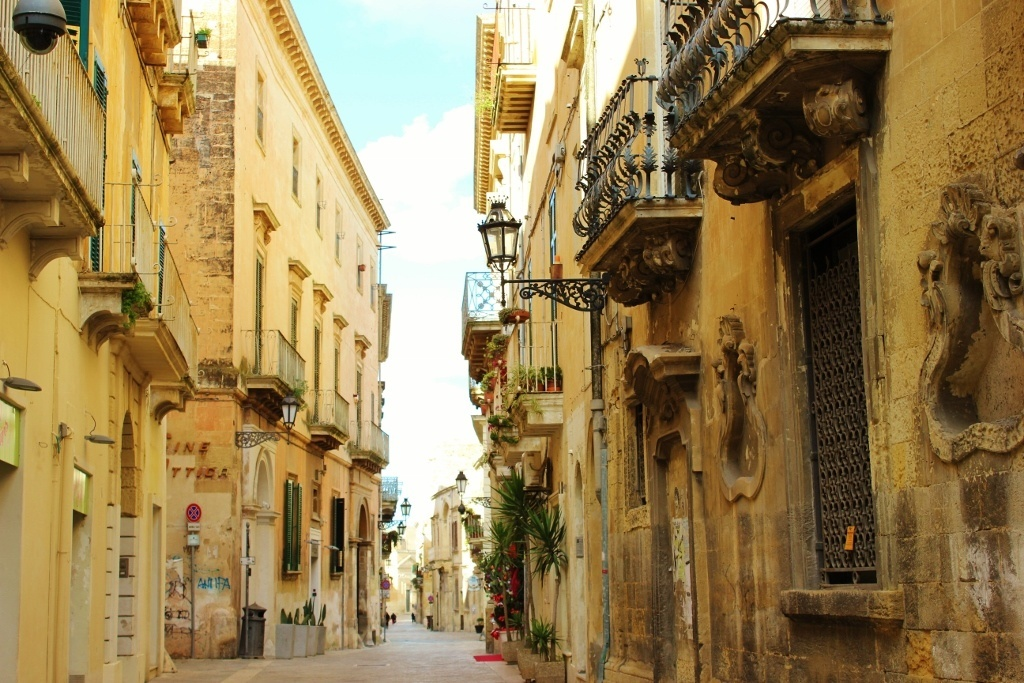 Image result for streets in the old city, lecce