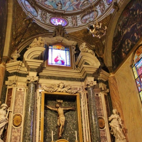 Side Altar in Lecce Cathedral