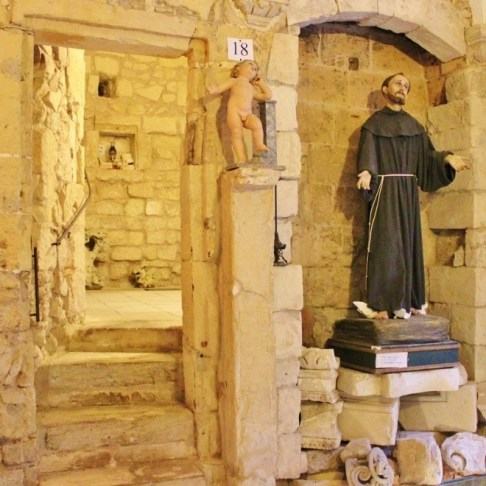 Remains of a 15th century chapel discovered inside Faggiano Museum in Lecce, Italy