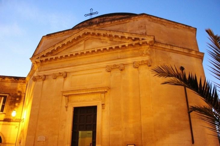 Chiesa di Santa Maria della Porta in Lecce, Italy