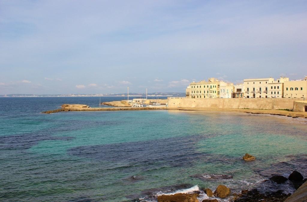 Seaside in Gallipoli Italy