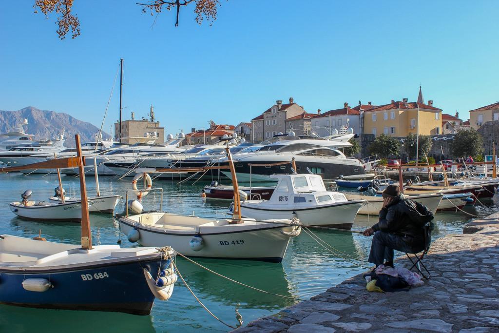 Budva Marina, Montenegro