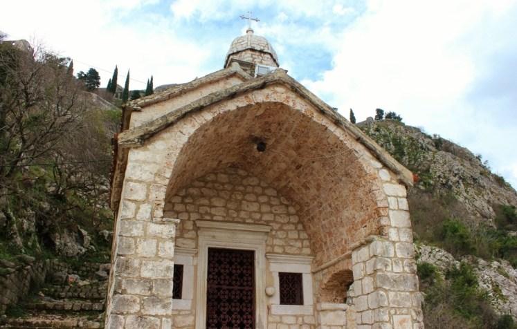 Church on Hike in Kotor, Montenegro