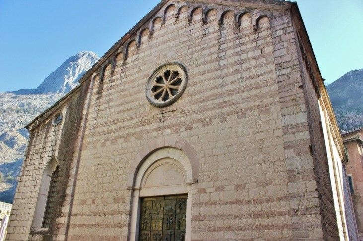 St Mary's Church in Kotor, Montenegro