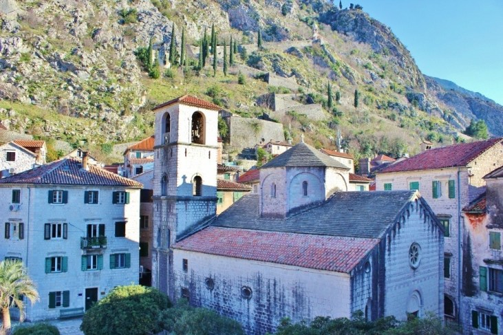 St. Mary's Church in Kotor, Montenegro