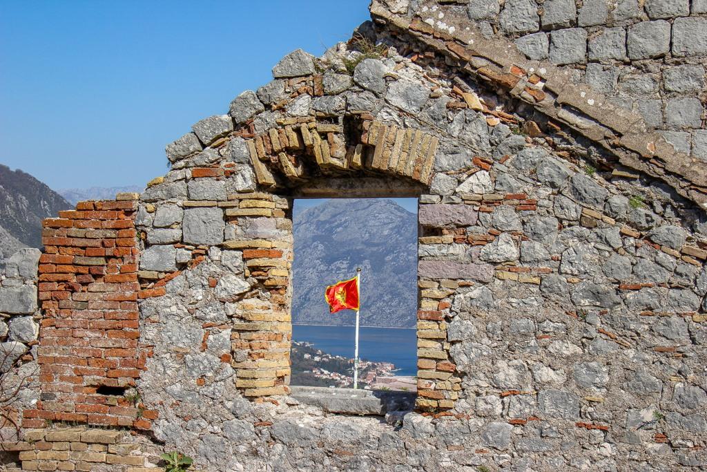View over Kotor Montenegro