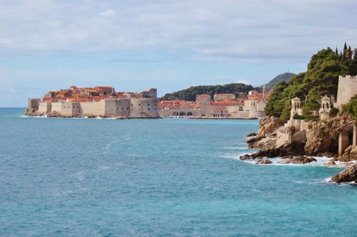 Coastline view to Dubrovnik, Croatia JetSettingFools.com