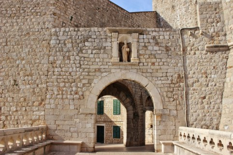 Ploce Gate and St. Blaise, Dubrovnik, Croatia JetSettingFools.com