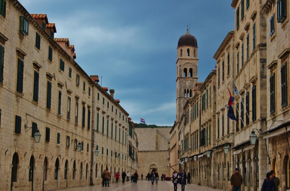 The Stradun pedestrian street, Dubrovnik, Croatia JetSettingFools.com