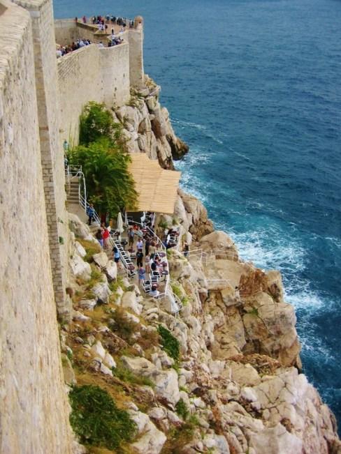 Buza Bar from Dubrovnik Walls, Dubrovnik, Croatia JetSettingFools.com