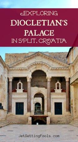 Exploring Diocletian's Palace Split Croatia by JetSettingFools.com