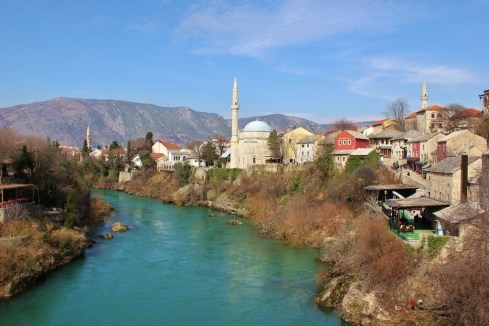 Mostar's Religions: The Koski Mehmet-Pasha Mosque