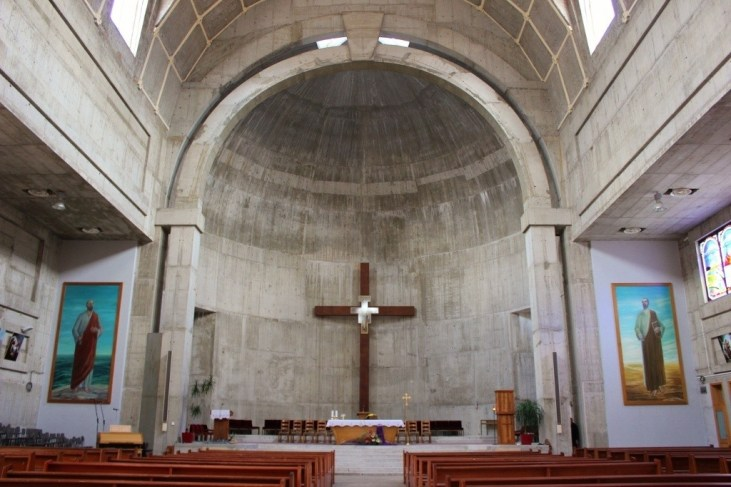 Mostar's Religions: Franciscan Church of Saints Peter and Paul in Mostar - inside