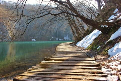 Plitvice Lakes routes through Lower Lakes