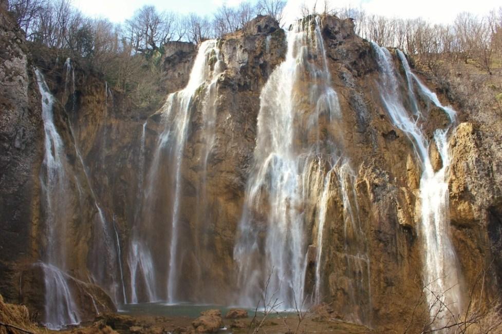 Plitvice Lakes photos: Veliki Slap, the Big Waterfall