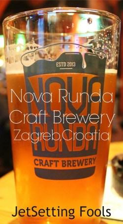 nova runda craft brewery in Zagreb Croatia