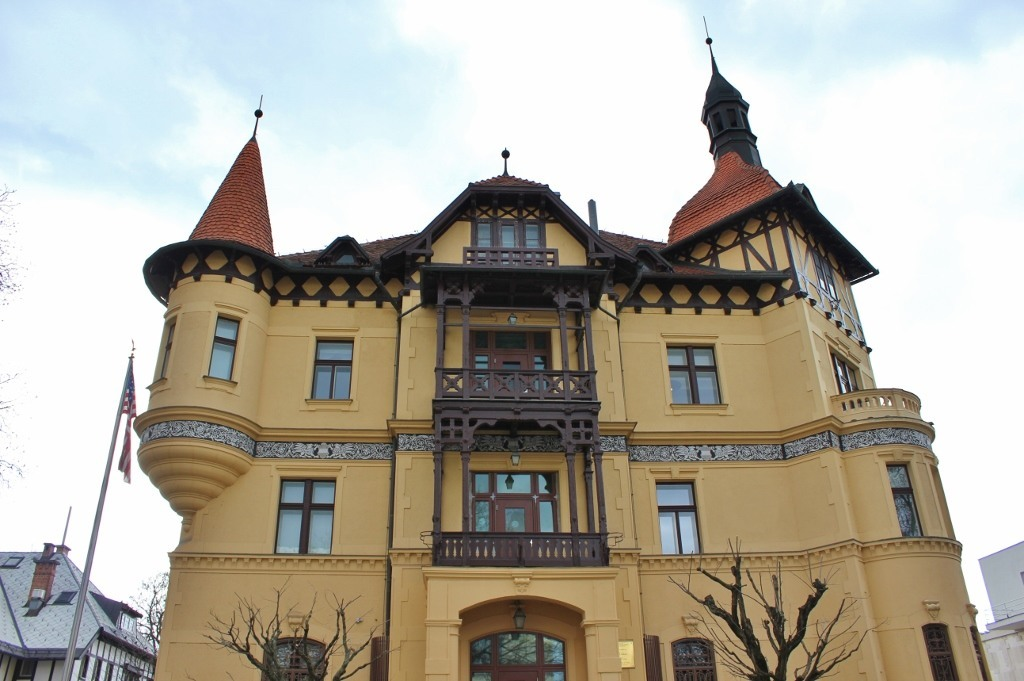 What to see in Ljubljana: US Embassy