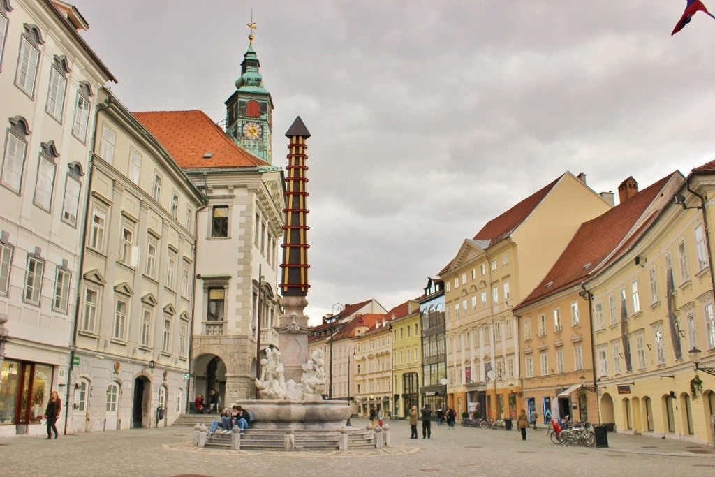 What to see in Ljubljana: Old Town and Old Square