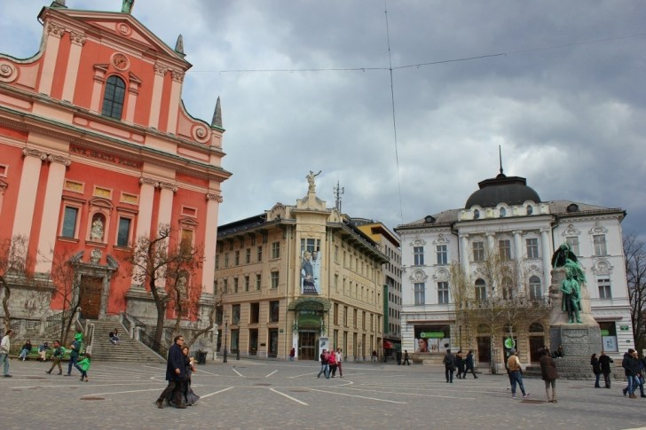 What to see in Ljubljana: Preseren Square