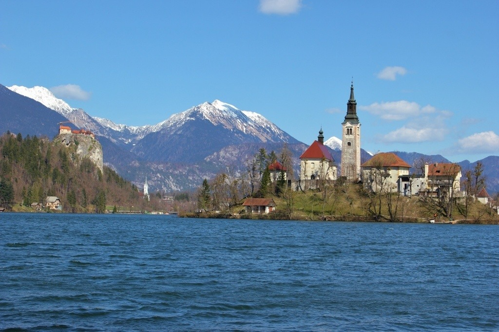 Best views of Lake Bled Slovenia