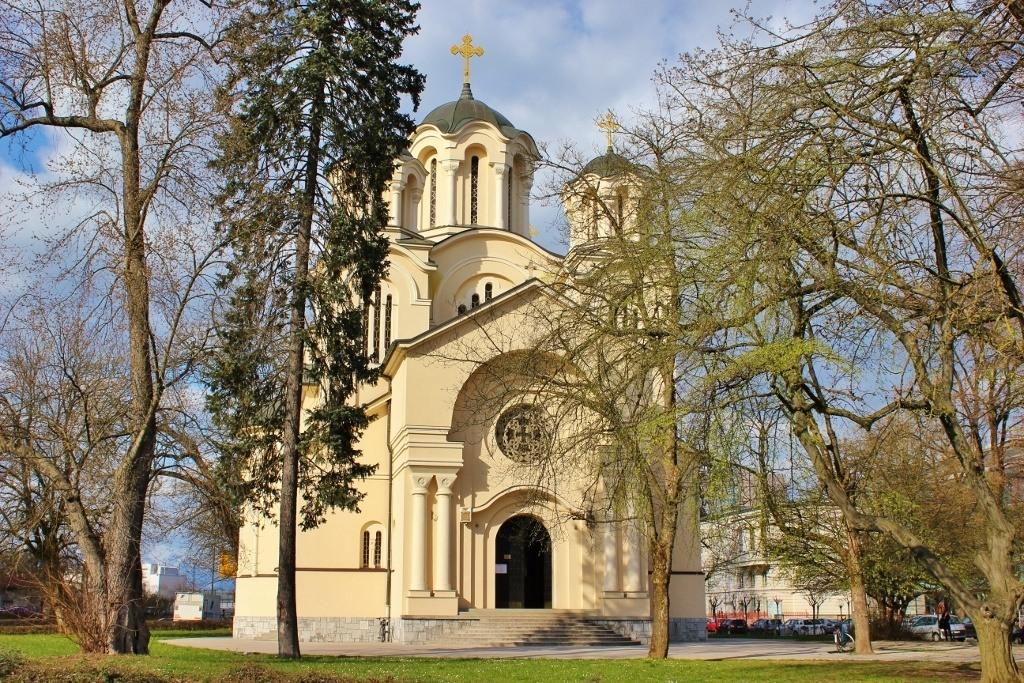 What to see in Ljubljana: Serbian Orthodox Church