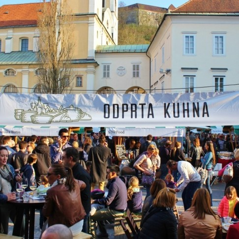 Ljubljana Food Festivals: Odpata Kuhna, Open Kitchen