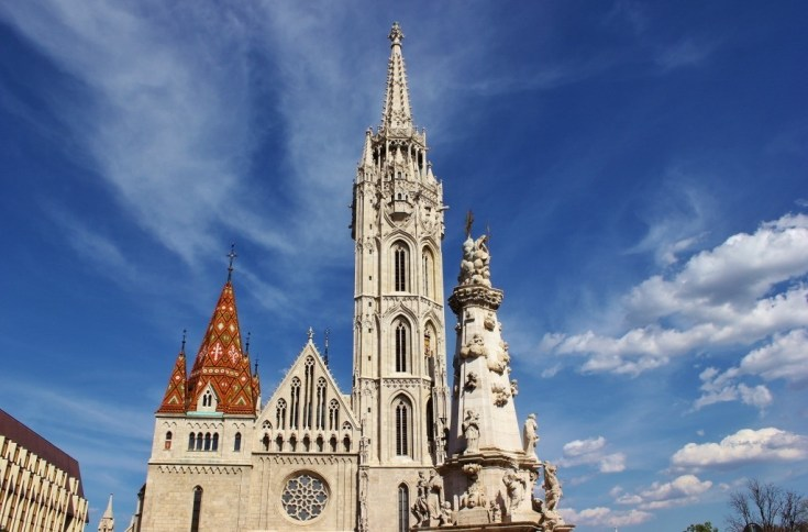 Castle Hill sights: Matthias Church