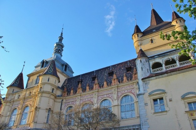 Budapest's City Park: The Baroque mansion houses the Museum of Hungarian Agriculture