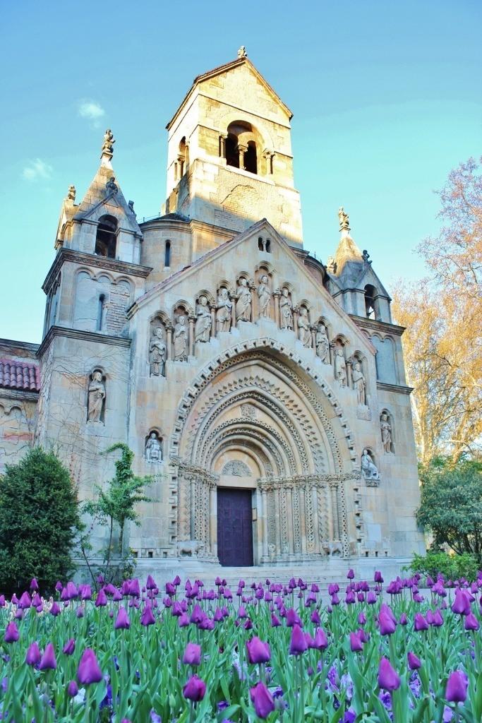 Budapest's City Park: The Romanesque Benedictine chapel