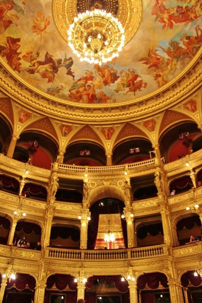 Opera House Interior, Budapest Hungary