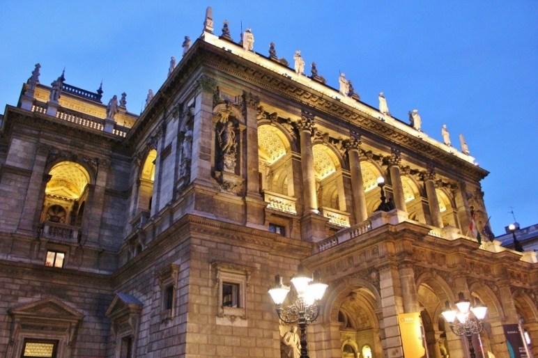 Opera House Exterior, Budapest Hungary