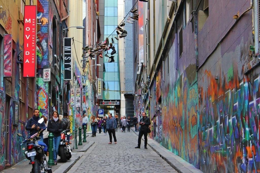 Street Art Scene, Melbourne, Australia