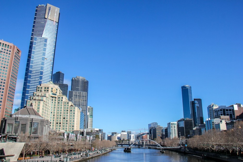 Yarra River View, Melbourne, Australia