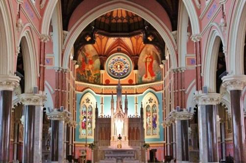 Interior St. Mary Star of the Sea Catholic Church