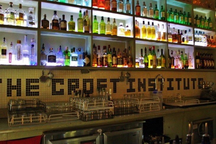 The Croft Institiue is one of the most unique Laneways bars, tucked down Croft Alley...just keep going and you'll eventually find it!