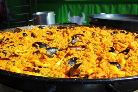 Euro Union is a Sunday event at the Queen Victoria Market and includes typical European dishes