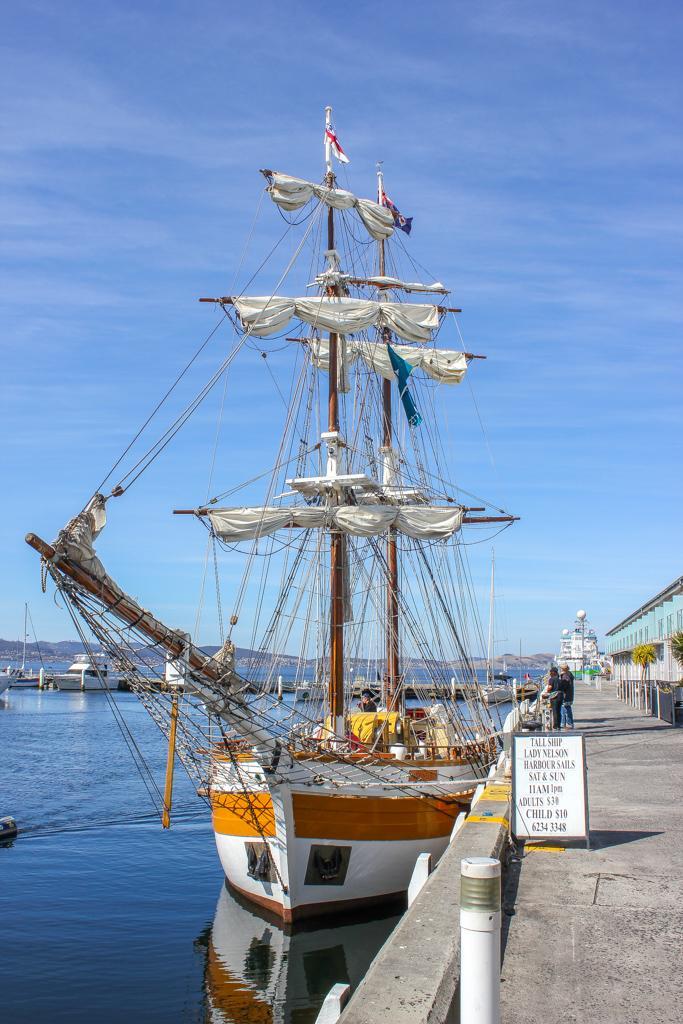 Lady Nelson Boat Cruise, Hobart, Tasmania, Australia