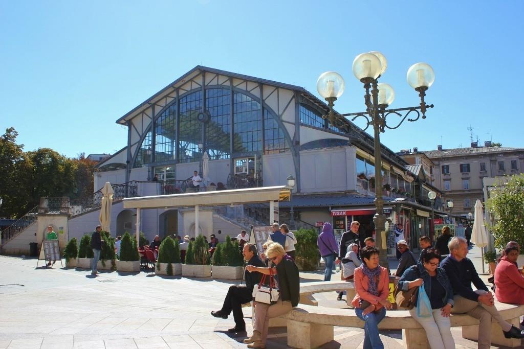 Pula, Croatia Food Market