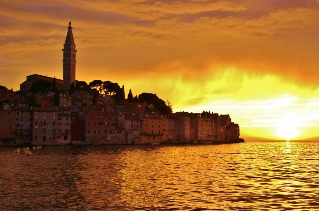 Sunsets in Rovinj, Croatia