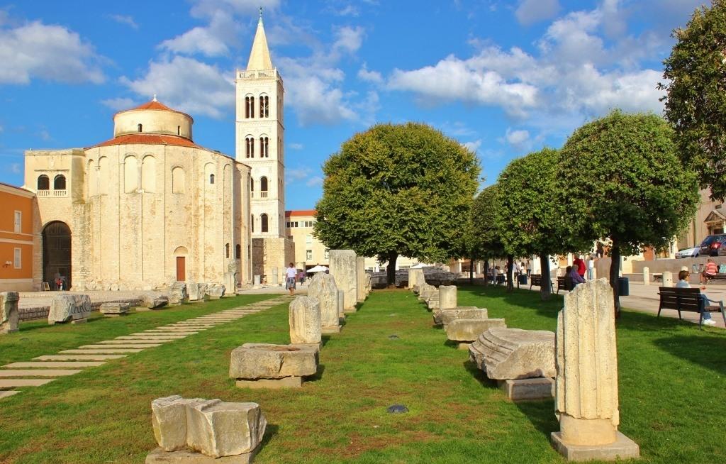 Our free self guided walking tour zadar croatia