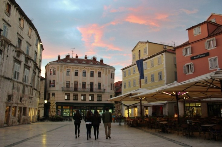 Peoples Square, Split, Croatia