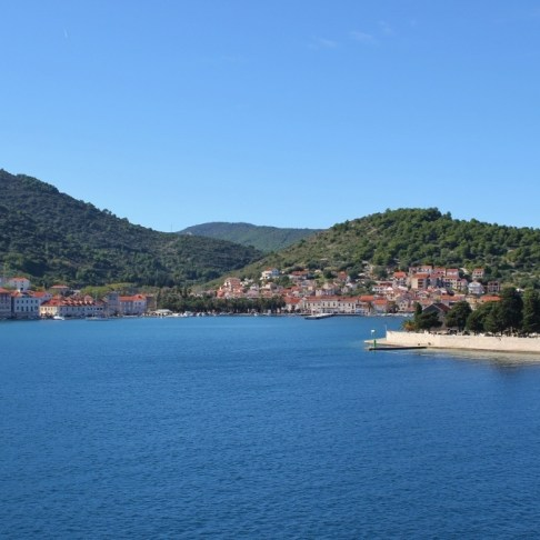 Ferry from Split to Vis Island