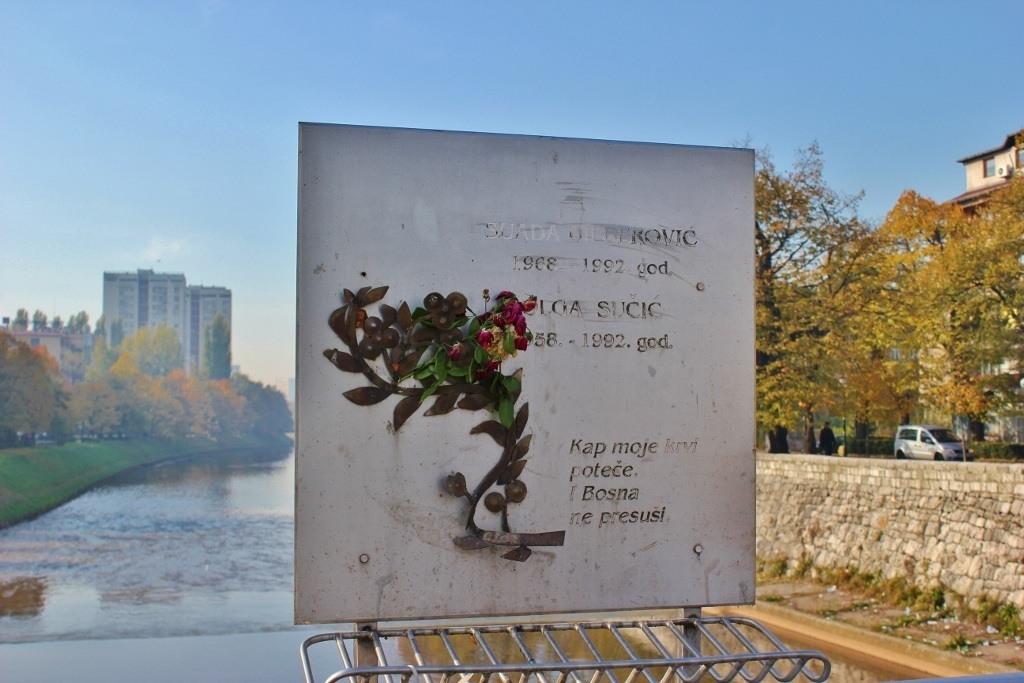 Romeo and Juliet Bridge Sarajevo