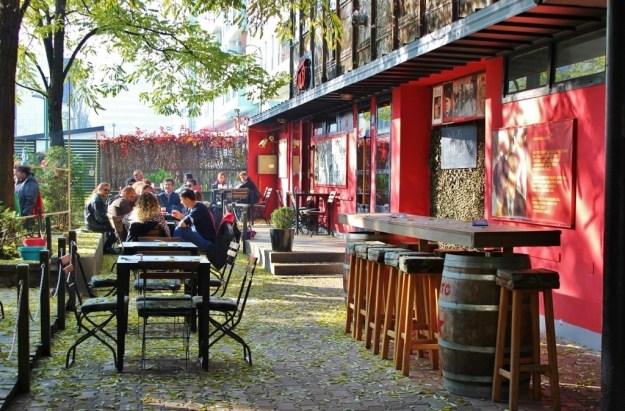 Cafe Tito in Sarajevo