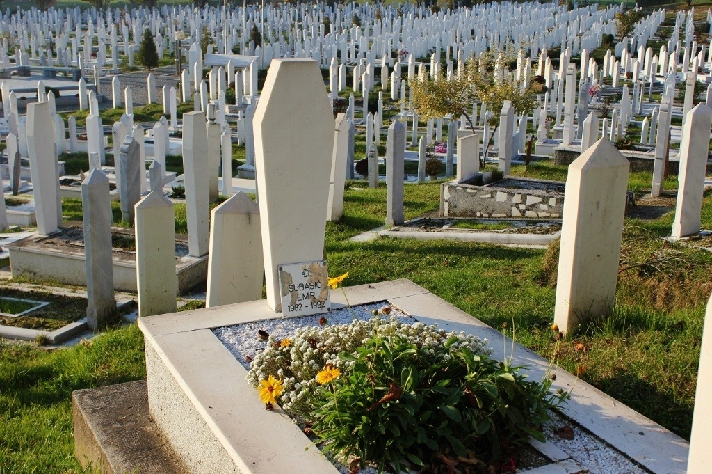 Cemetery in Sarajevo, BIH