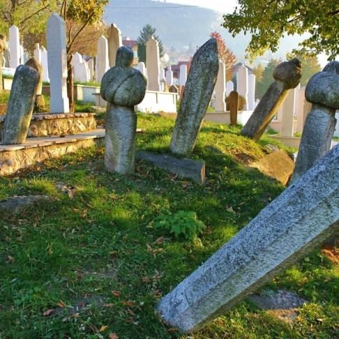 Ottoman tombstones in Sarajevo, BIH