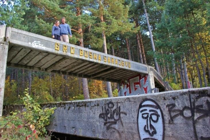 Bobsled Track Sarajevo