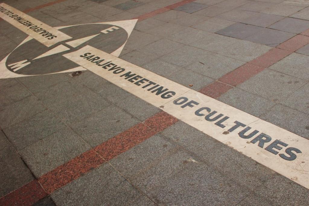 Sarajevo Meeting of Cultures monument
