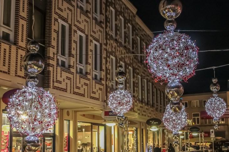 Christmas decorations in Nijmegen, Netherlands