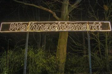 Klever Christmas Market sign